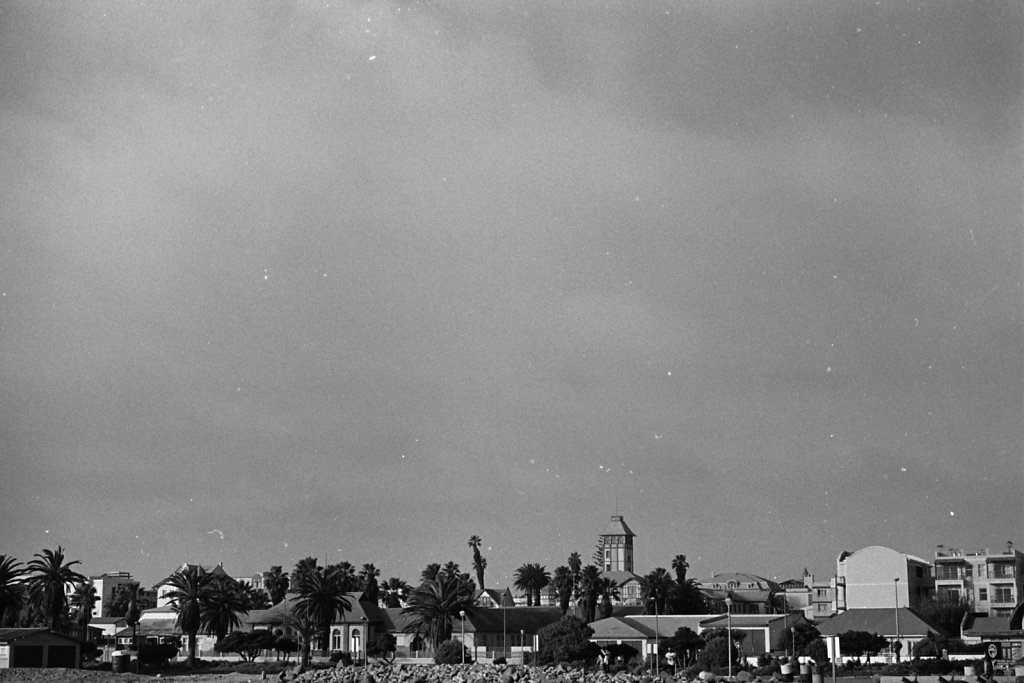 Skyline. Swakopmund.