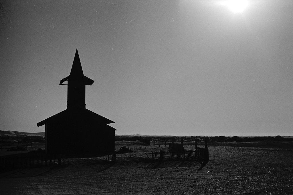 Old Church. Walvis Bay.